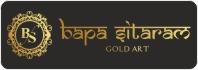 Bapa Sitaram Gold Art Logo